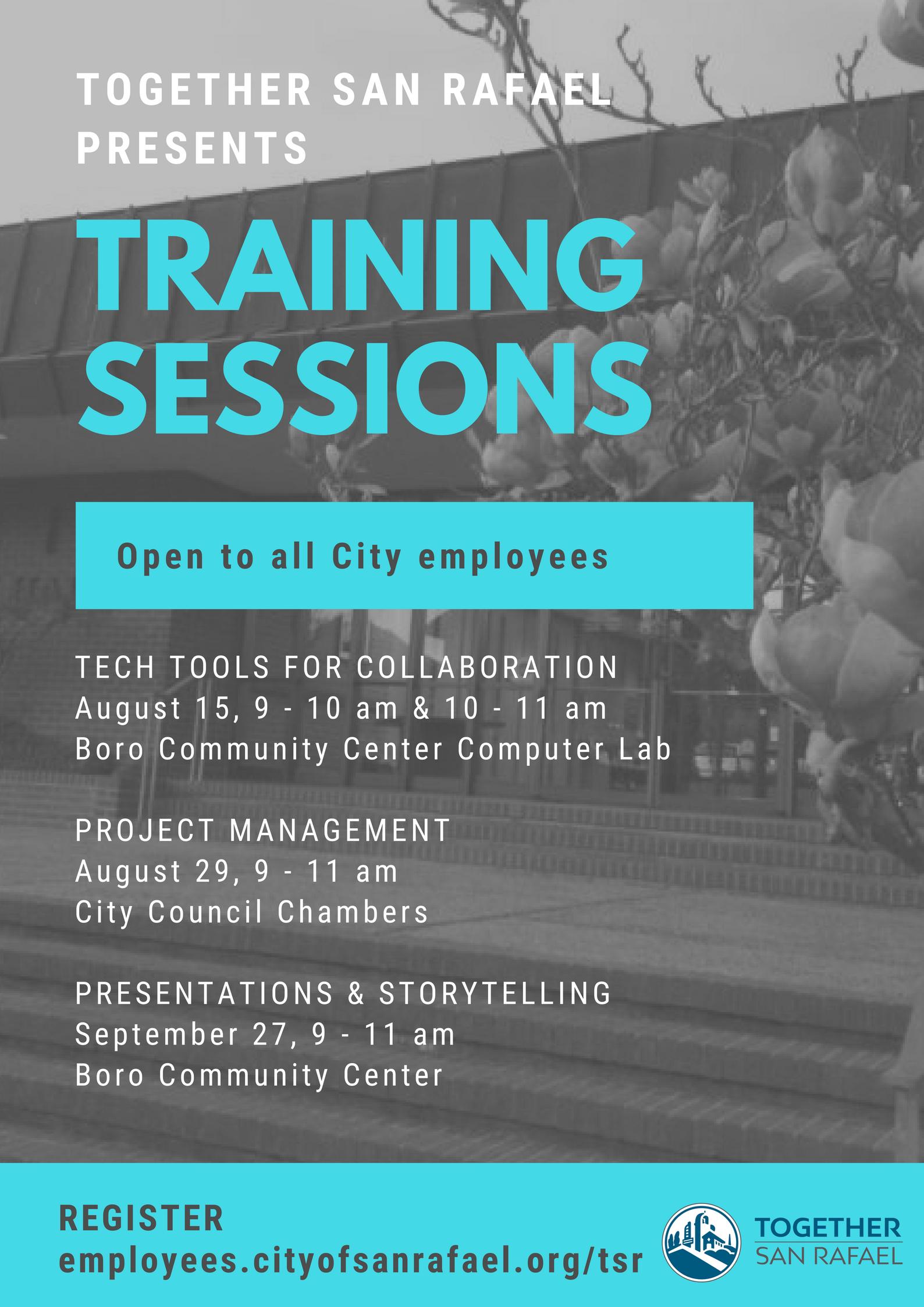 TSR Training Sessions