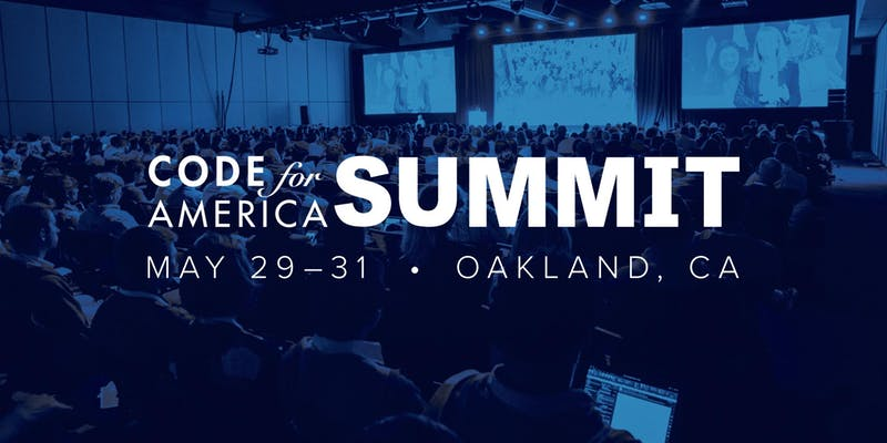 Code for America Summit 2019