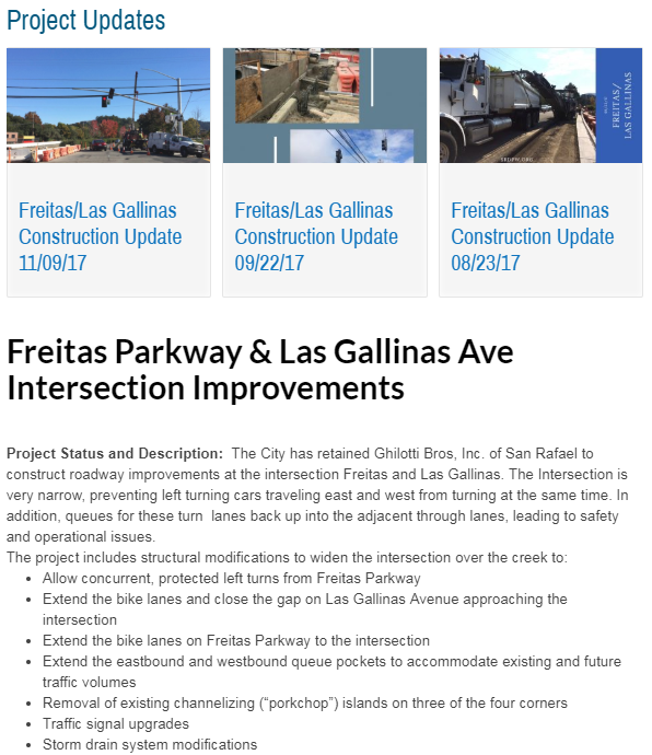 Frietas-Las Gallinas Project Page