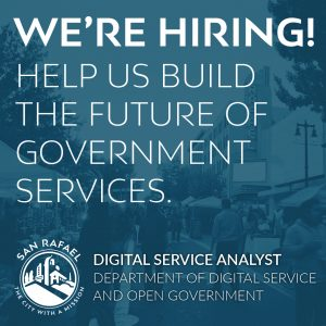 Now Hiring - Digital Service Analyst