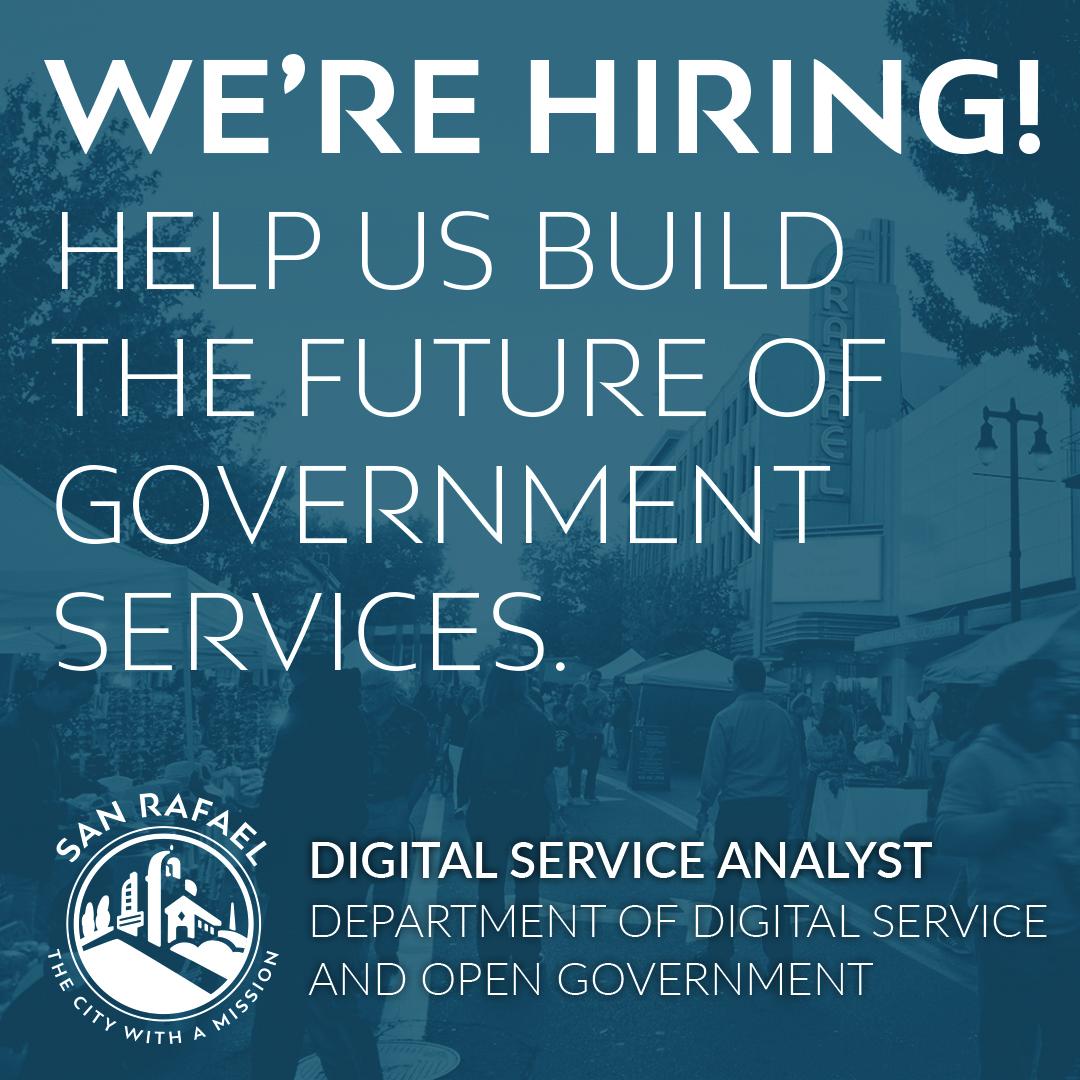 Now Hiring - Digital Service Analyst