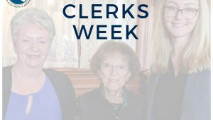 Municipal Clerk's Week 2019
