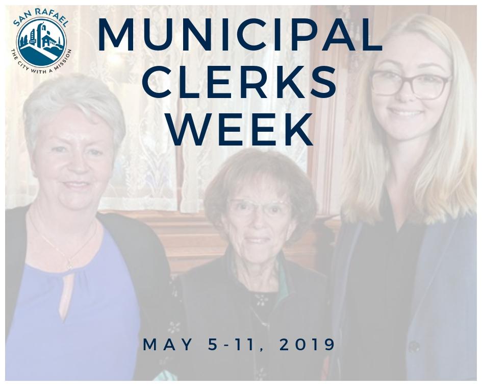 Municipal Clerk's Week 2019