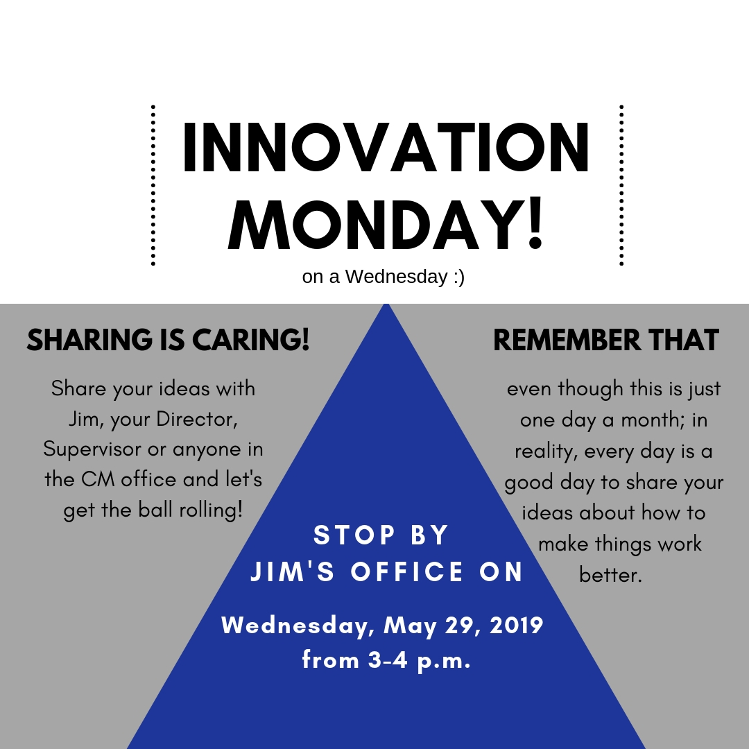 Innovation Monday - May