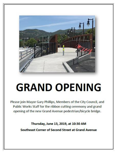 Grand Ave Bridge Grand Opening