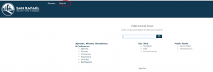 public records portal