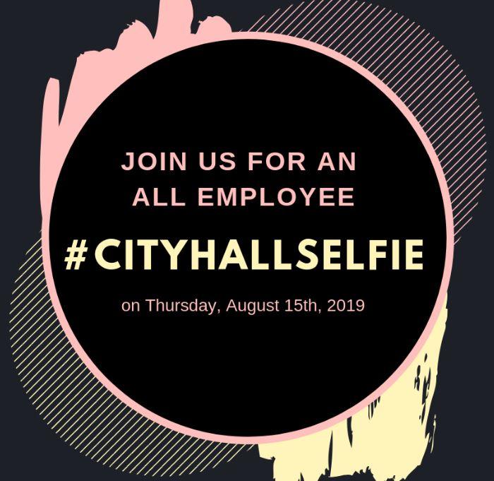 CH Selfie flyer