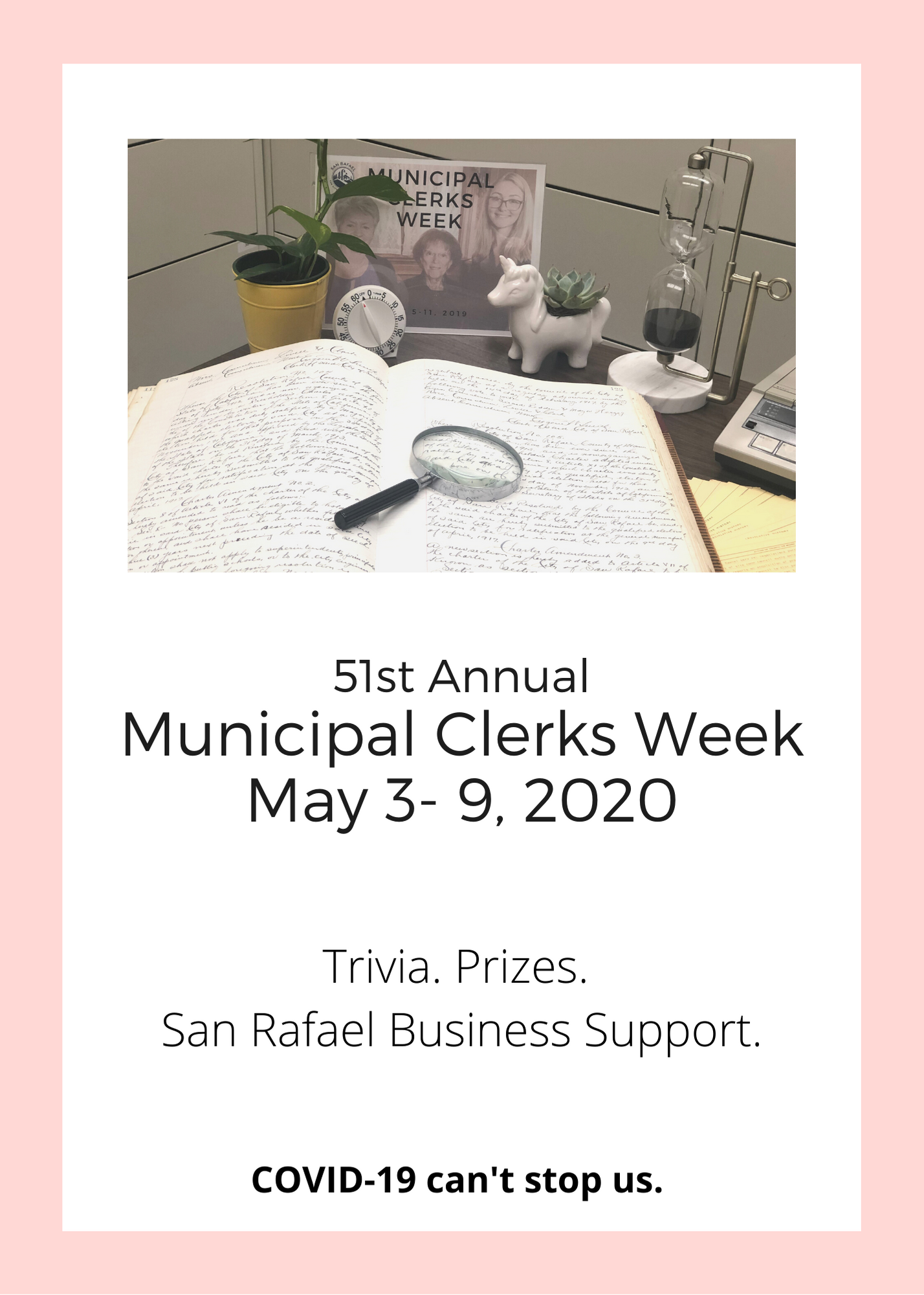 Municipal Clerks Week Flier