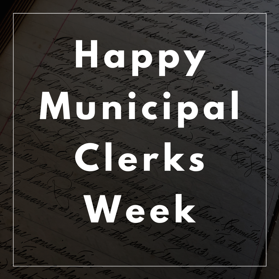 Municipal Clerks Week - Friday