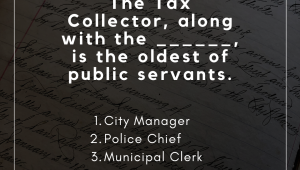 Municipal Clerks Week - Monday