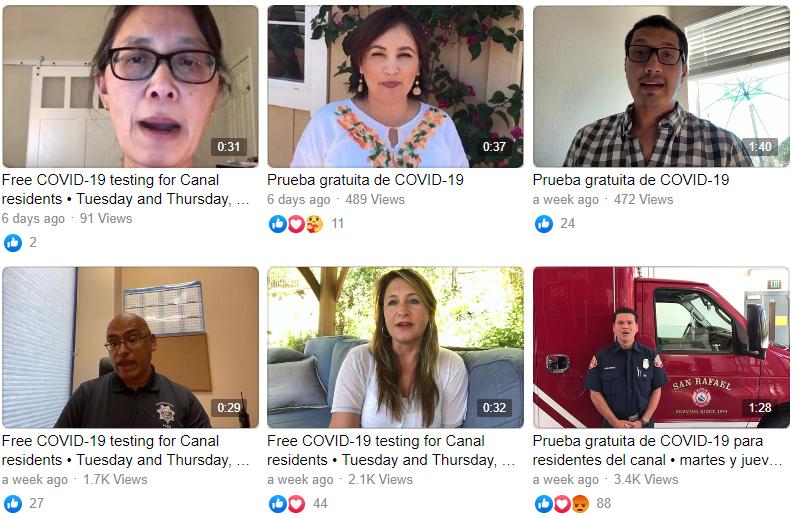 COVID-19 Testing Awareness Videos