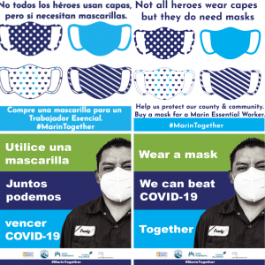 Instagram images used to promote mask wearing for COVID transmission prevention