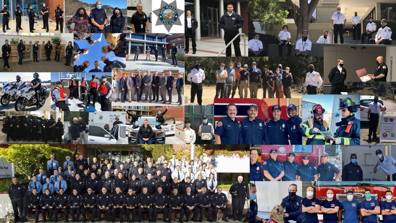 Police and Fire Collage