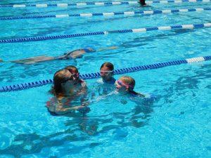 Children swimming at Terra Linda Pool