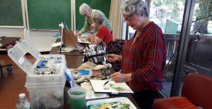 Goldenaires Painting Class
