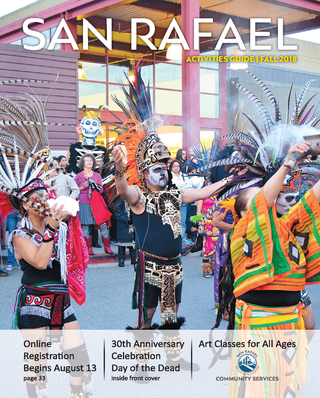 Image of San Rafael Activities Guide Fall 2018