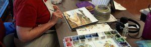 Goldenaires Watercolor Class