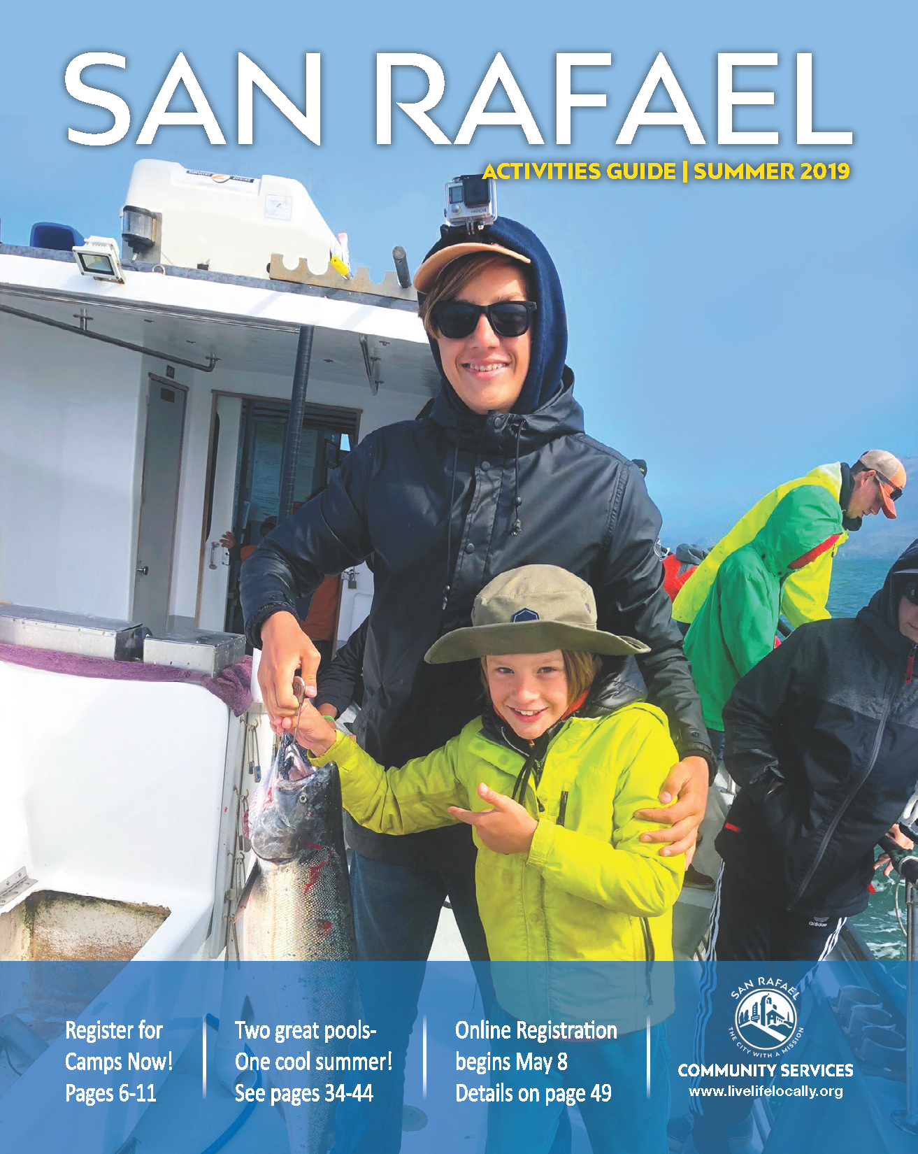 Cover Image of Summer Activities Guide 2019