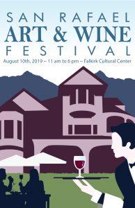 San Rafael Art & Wine Festival poster