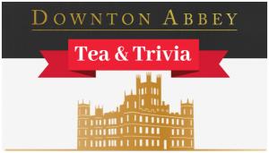 Downton Abbey Tea & Trivia logo