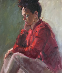 Red Top by Kathleen Lack
