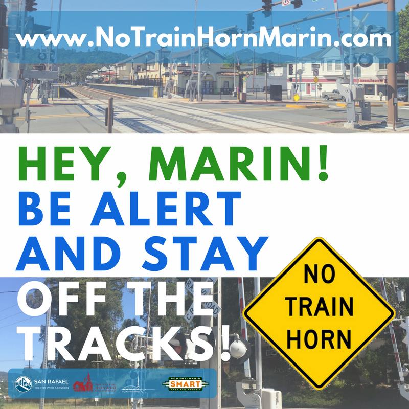 No Train Horn Social Media