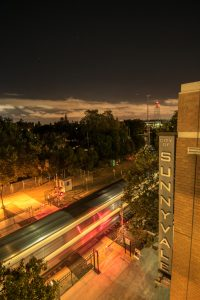 night view of Sunnyvale