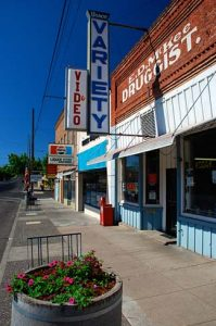 Downtown Wasco, Oregon