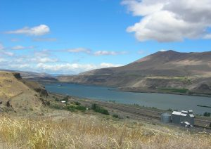 Sherman County's Columbia River Boundary