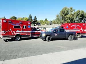 Sherman County Emergency Management Vehicles