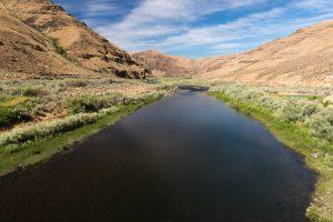 The John Day River at Cottonwood Canyon