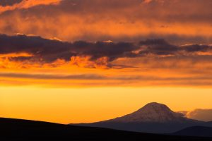 Mt. Adams at sunset