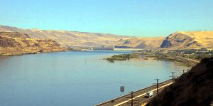 Columbia River at the John Day Dam