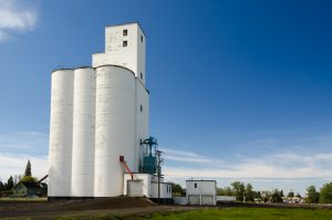 Grass Valley grain elevator