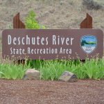 Deschutes River State Park Entrance