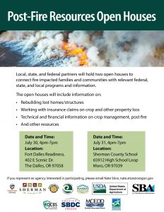 Post Fire Resources Open House