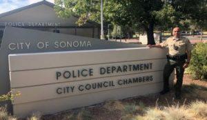 Sonoma Police Chief Orlando Rodriguez
