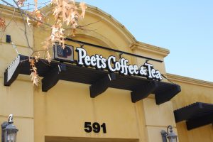 Peet's Coffee Sign