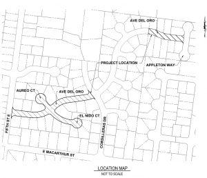 2017 Street Rehabilitation Project Map