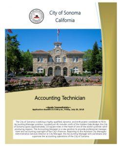 Accounting Technician Brochure