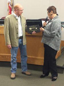 Sonoma City Council Recognizing outgoing council member Edwards