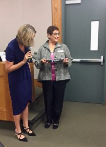 recognition of outgoing Mayor Madolyn Agrimonti