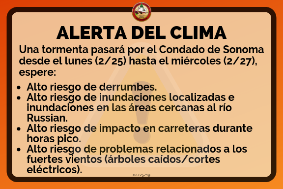 Alerta del clima