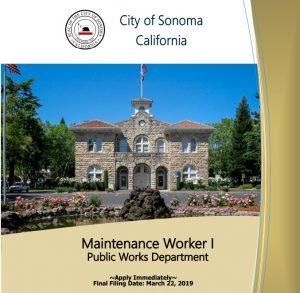 Maintenance Worker 1 Flyer