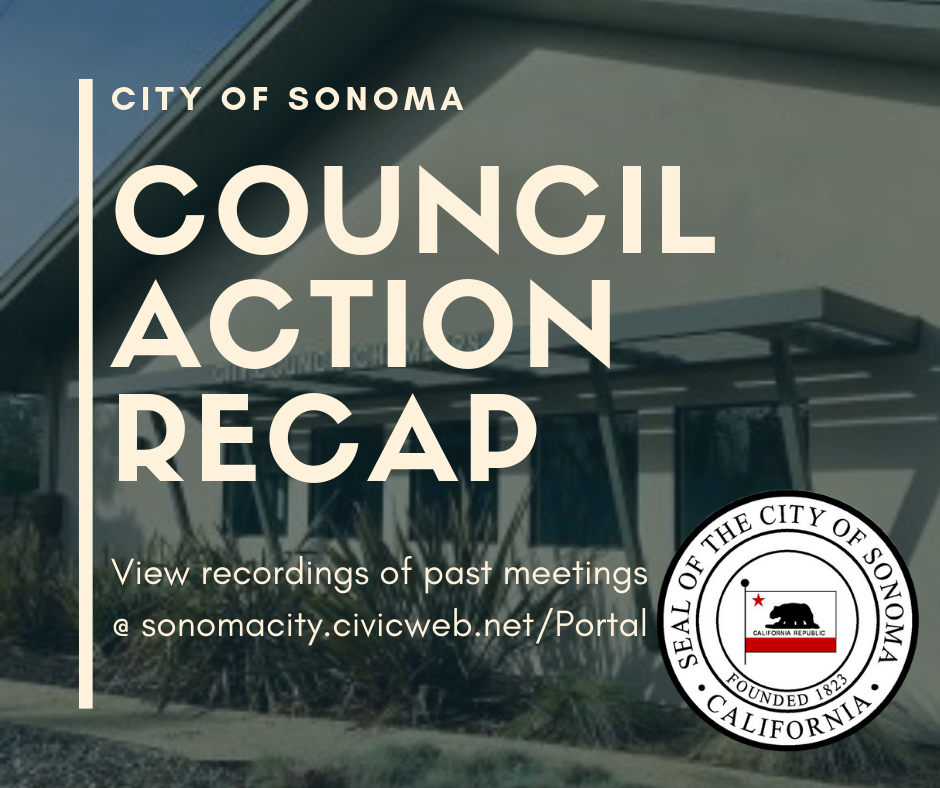Council Action Recap