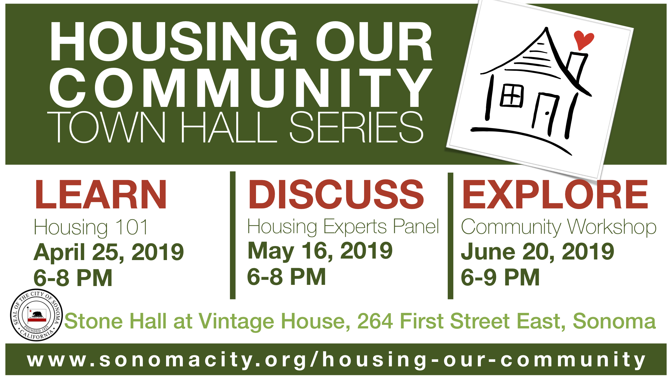 Housing Our Community Town Hall Series
