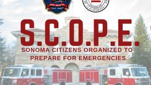 S.C.O.P.E. Sonoma Citizens Organized to Prepare for Emergencies