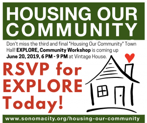 RSVP for Explore, Community Workshop