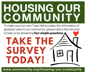 Take the second Housing Our Community Survey