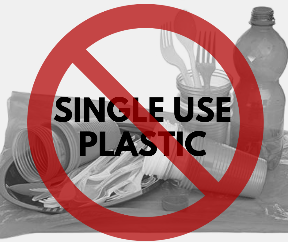City of Sonoma Single Use Plastics Ban at Events in Sonoma Plaza and Depot Park